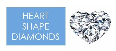 heart shape diamonds