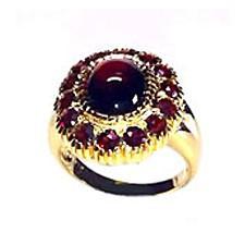 Garnet & Tourmaline Rings