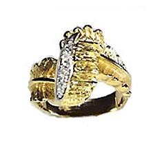 Diamond & Gold Rings