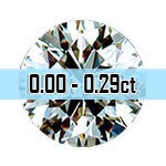Round Brilliant Cut Diamonds - 0.00ct - 0.29ct