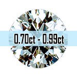 Round Brilliant Cut Diamonds - 0.70ct - 0.99ct