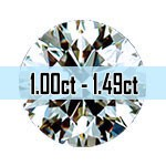 Round Brilliant Cut Diamonds - 1.00ct - 1.49ct