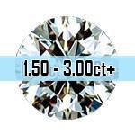 Round Brilliant Cut Diamonds - 1.50ct - 3.00ct+