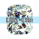 Cushion Cut Diamonds - 0.00ct - 0.99ct
