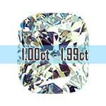 Cushion Cut Diamonds - 1.00ct - 1.99ct