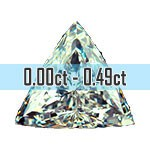 Trilliant Cut Diamonds - 0.00ct - 0.49ct
