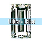 Baguette Cut Diamonds - 1.00ct -  2.00ct+