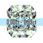 Radiant Cut Diamonds - 0.00ct - 0.99ct