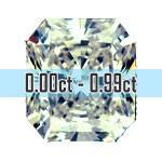 Radiant Cut Diamonds - 0.00ct - 0.99ct