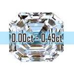 Asscher Cut Diamonds - 0.00ct - 0.49ct