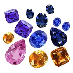 Sapphires & Tanzanites