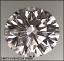 Round Brilliant Cut Diamond Photograph 0.80ct G VS1
