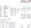 Asscher Cut Diamond 0.29ct - F VVS2