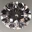 Round Brilliant Cut Diamond 0.90ct F VS2