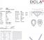 Pear Shape Diamond 0.25ct D VS1
