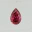 Pear Shape Diamond 0.17ct Fancy Vivid Purplish Red SI1