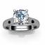 Diamond Engagement Ring - SOLT 107