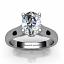 Diamond Engagement Ring - SOLT 114