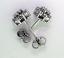 Round Diamond Cluster Ear Studs - 0.58ctw F/G I1