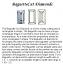 Baguette Cut Diamond Pairs FPR 040 0.48ct