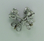 Round Diamond Ear Studs 0.61ctw H/I SI1