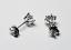 6 Claw Round Brilliant Cut Diamond Ear Studs