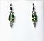 Tourmaline & Diamond Earrings