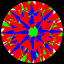 ASET Image Round Brilliant Cut Diamond 0.25ct D IF
