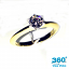 Classic Ring 198 Round Diamond 0.55ct K SI1