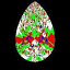 ASET Image FS 817 Pear Shape Diamond
