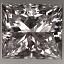 Princess Cut Diamond 0.91ct G SI1