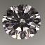 Round Brilliant Cut Diamond 0.67ct E VVS2