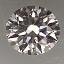 Round Brilliant Cut Diamond 0.22ct F VS2