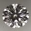 Round Brilliant Cut Diamond 0.43ct E VVS1