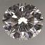 Round Brilliant Cut Diamond 0.27ct D VS1