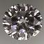 Round Brilliant Cut Diamond 0.71ct D SI1