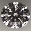 Round Brilliant Cut Diamond 1.37ct G VS2