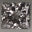 Princess Cut Diamond 1.24ct F SI1