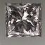 Princess Cut Diamond 0.62ct E VS1