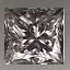Princess Cut Diamond 0.70ct F VS1