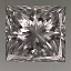 Princess Cut Diamond 0.60ct G VVS2