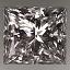 Princess Cut Diamiond 1.35ct E SI1