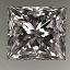 Princess Cut Diamond 1.36ct E VS2