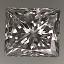 Princess Cut Diamond 0.60ct G VVS1