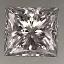 Princess Cut Diamond 0.39ct E SI1
