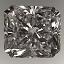 Radiant Cut Diamond 3.01ct H VS2