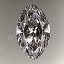 Marquise Cut Diamond 1.01ct E VS1