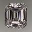 Emerald Cut Diamond 0.80ct F IF