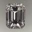 Emerald Cut Diamond A 198 1.00ct