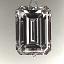 Emerald Cut Diamond 1.52ct - G SI1 - A 105